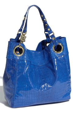 Steve Madden Candy Coated Croc Tote....love love this color for spring
