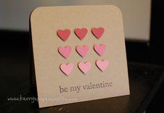 paint chip valentines
