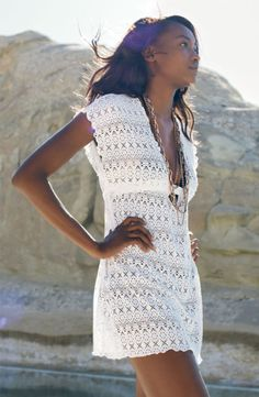 Oluchi Onweagba for Nordstrom  Beach Cover~up