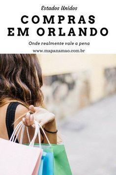Comprar nos Estados Unidos é bom né? Agora, comprar barato e em um lugar maravilhoso como Orlando, melhor ainda. Por isso trouxe aqui as melhores lojas para fazer compras em Orlando. Olha só!