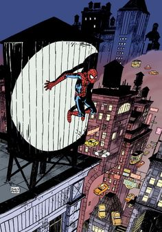 Cover par Thierry Martin pour Spider-Mag.