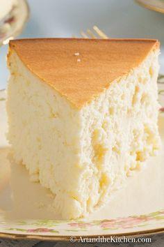 Real Cheesecake Recipe, Crustless Cheesecake Recipe, Lemon Cheesecake Recipes, Best Cheesecake, Homemade Cheesecake, Thermomix Cheesecake, Tolle Desserts, Köstliche Desserts, Delicious Desserts