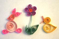 quilling easter | quilled Easter eggs
