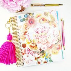Look what Mr. Postman just (and I mean JUST) brought for me! My new @erincondren cover! I'm hoping  she relaunches rose gold planners next time so I can get the rose gold foil cover to match!