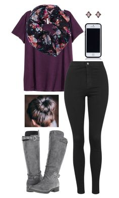 """What can I do to improve my account? Please post replies in comments. "" by julia-grace-dressed-in-lace ❤ liked on Polyvore featuring H&M, Wet Seal, Topshop and Rocket Dog"