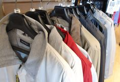 Cozy, comfortable men's jackets at Winston's Mens Wear in Goderich