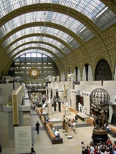 Musee d'Orsay in Paris - unbelievable architecture    Photo by Andrew Home