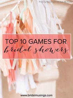 Top 10 Chic & Unique Hen Do / Bridal Shower Games
