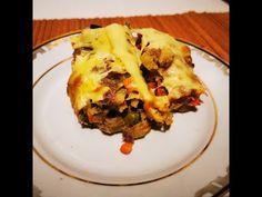 Budinca de legume cu cașcaval - YouTube Lasagna, Eggs, Breakfast, Ethnic Recipes, Kitchen, Youtube, Food, Morning Coffee, Cooking