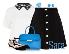 """""""Sara"""" by alyssa-eatinger ❤ liked on Polyvore featuring Ippolita, ABS by Allen Schwartz, Sportmax, AG Adriano Goldschmied, Alexander Wang and Gianvito Rossi"""