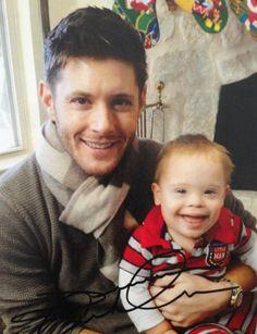 Jensen and his nephew Levi