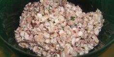 Hüttenkäse mit Thunfisch, low carb Diät rezept