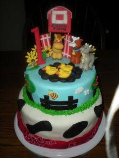 Girly Gatherings Carters Farm Cake
