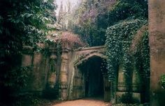 I like to dream that this is the entrance to my house…  fuckyeahcastles:  beautefragile:   we heart it /
