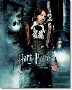 Someday I need to get Philip the robes Ron wears in Goblet of Fire so he can partner with my Hermione dress!