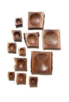 Scott McGlasson Walnut Bowls