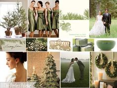 Evergreen & Snow: A Holiday Inspired Wedding
