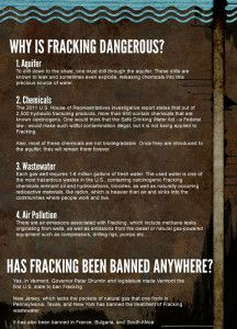 Fracking Is Bad — But Why? This Graphic Explains | MoveOn.Org | Democracy In Action