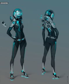 space suit by Zaryuta