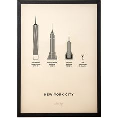 me&him&you - New York City City Print (5.265 RUB) ❤ liked on Polyvore featuring home, home decor, wall art, new york city home decor, nyc wall art, new york city wall art, framed wall art e nyc home decor