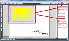 from jpeg to cutting file with silhouette software!