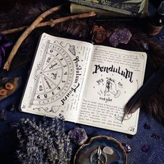 Witchcraft For The Weather Witch (Posts tagged book of shadows) Bullet Journal Ideas Pages, Bullet Journal Inspiration, Journal Pages, Journals, Pendulum Board, Grimoire Book, Witchcraft Books, Eclectic Witch, Modern Witch