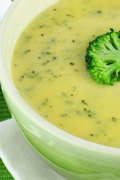 Broccoli Potato Cheese Soup - Weight Watchers