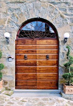 Door in Cortona, Italy~