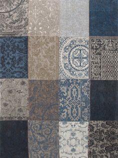 Vintage Multi Blue Denim rug