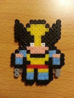 Wolverine hama beads by Factory Beads
