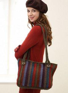 Twilight Woods Tote , #free #crochet #pattern <3ceruleana<3