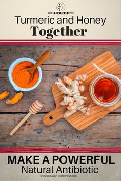 Turmeric is a rhizome in the ginger family. Its flavor and color add depth to Asian cuisines. Turmeric and honey, however, are an unstoppable force. Turmeric Spice, Turmeric And Honey, Turmeric Curcumin, How To Stay Healthy, Healthy Life, Healthy Living, Herbal Remedies, Natural Remedies, Natural Antibiotics