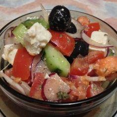 Pikáns Görög saláta - Görög Saláta 3. - csípős paprikával