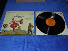 The Sound of Music Soundtrack with Julie Andrews vinyl lp