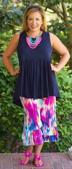 Kaleidoscope Of Colors Capri Pants - Perfectly Priscilla Boutique