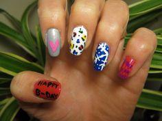 November Birthday Nails 2