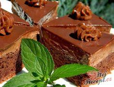 Velikonoční čokoládové trojúhelníčky 20 Min, Tiramisu, Panna Cotta, Pudding, Sweets, Baking, Cake, Ethnic Recipes, Desserts