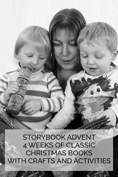 Storybook Advent - a 4 week series based on 4 classic children's Christmas storybooks with crafts, activities and more. Click through to discover dates and how you can keep up to date Advent For Kids, Christmas Crafts For Kids To Make, Christmas Activities For Kids, Preschool Learning Activities, Toddler Preschool, Book Activities, Toddler Activities, Handmade Christmas, Christmas Fun