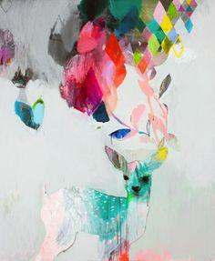 painting by Miranda Skoczek