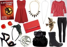 Inspired By: Books Turned Movies {Catching Fire}