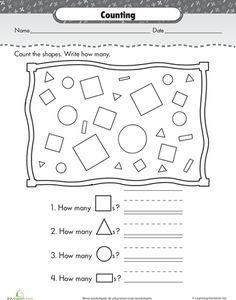 Slideshow: Shape Up: Basic Shapes for Kindergarteners Kindergarten Shapes, Preschool Shapes, Preschool Math, Math Classroom, Kindergarten Classroom, Teaching Math, Math Activities, Teaching Ideas, Basic Shapes