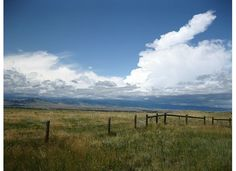 Looking out back west towards the Rockies. Another Wyoming landscape.