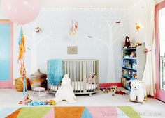 Come See Jessica Alba's Beautiful Home featuring Stokke Sleepi crib