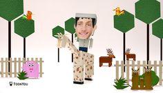 "Papa, maman et moi dans ""My Dream Jobs"", la série TV: Episode ""Gardien de Zoo"" #MyDreamJobs #ToonYou #ToonMyFamily #Famille #Enfants #App #Zoo"