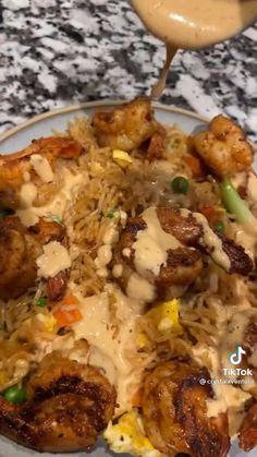 Grilled Shrimp Recipes, Shrimp Recipes For Dinner, Italian Pasta Recipes, Seafood Recipes, Chicken Recipes, Cooking Recipes, Meal Recipes, Seasoned Rice Recipes, Shrimp And Rice