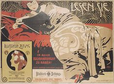 Secession poster (1899). Since I've been delving over the past year into the fin de siècle culture of Germany and Austria, the name of Koloman Moser (1868–1918) has kept recurring. This is partly b...