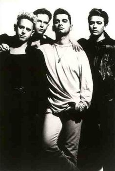 Depeche Mode...  Summer concert series on the slopes of Park West!  Dougie, Dennis, Tali, Trent...  Great days...