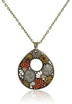 Multi Pendant In A Long Chan Price: Rs 829