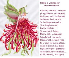 Doamna Fagilor: Florile au o vreme a lor. Kids Poems, Autumn Theme, After School, Nursery Rhymes, Homeschool, Education, Romania, Binder, Plant