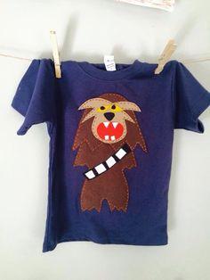 Wookie appliqué